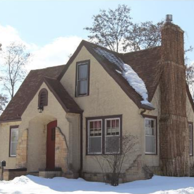 Will home values in Brainerd decline if new smaller houses are built? This 1940 built home is one of the larger listings for sale, at $124,900. (Realtor.com)
