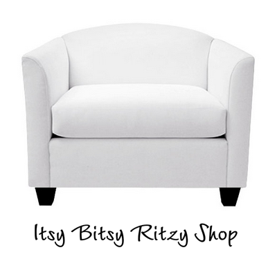Live it up! Here's an elegant, pricey lounge chair that hides a bed for one. This chair comes in white, sand and grey, with washable coverings. (Itzy Bitsy Ritzy Shop)