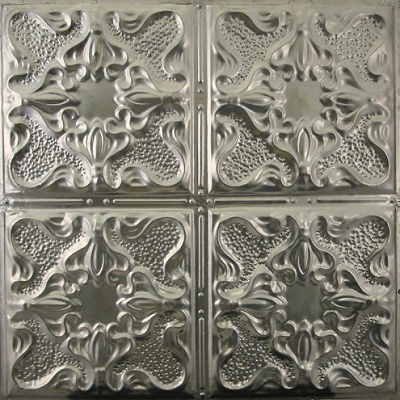 Vintage Gothic adds extra flourishes. (Metal Ceiling Express)