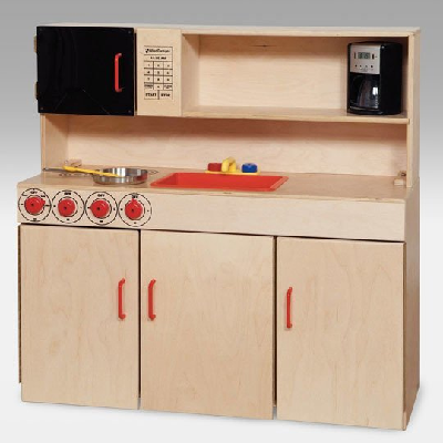 Make sure you have budgeted well. Otherwise you may be forced to downgrade to a play kitchen! (Hayneedle.com)