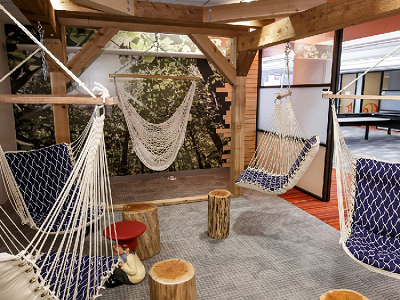 PAYPAL - In Chicago, a tree house is ready to host Braintree collaborations or independent work. (Business Insider)
